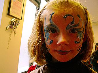 elegant maquillage enfant pour nol frique with maquillage enfant fee